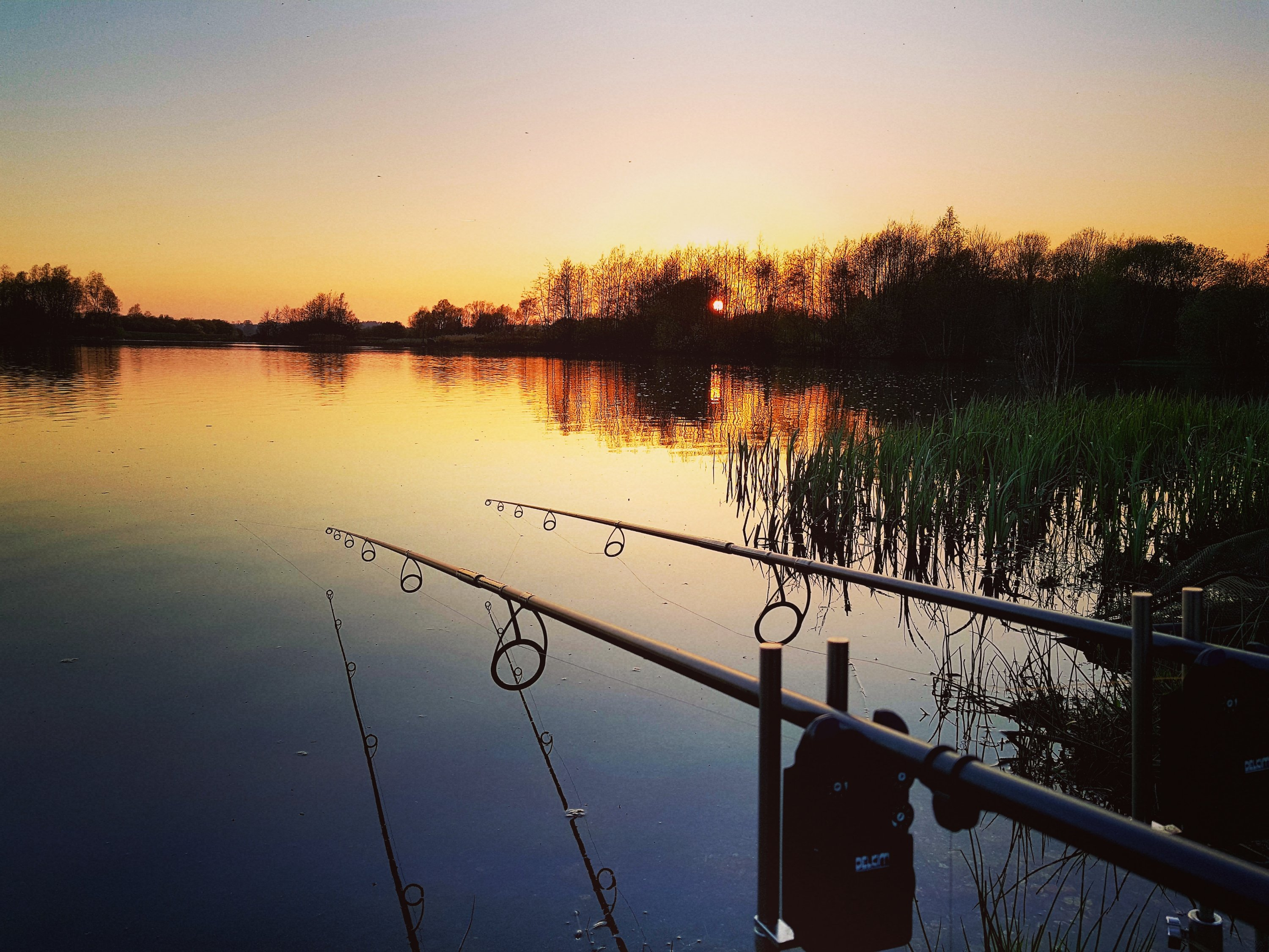 Stunning Sunset Tonight Uk Carp Amp Coarse Fishing